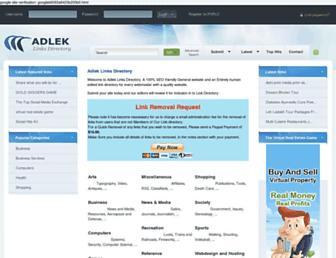 Thumbshot of Adlek.com