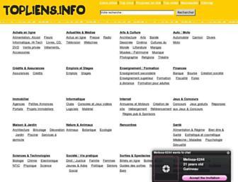 Thumbshot of Topliens.info