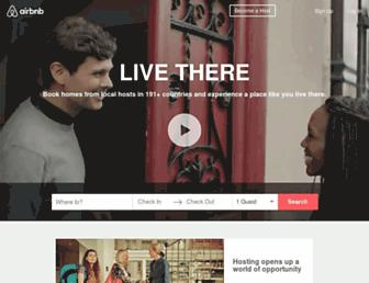 m.airbnb.com screenshot