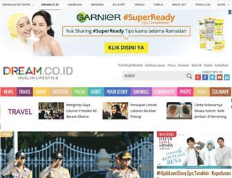 dream.co.id screenshot