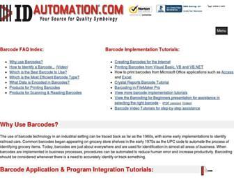 barcodefaq.com screenshot