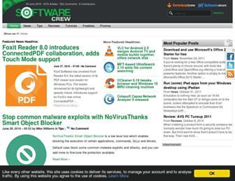 softwarecrew.com screenshot