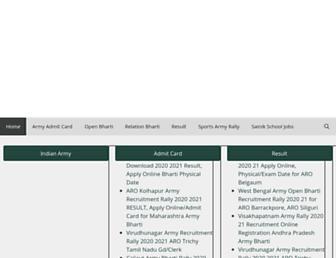 rajobportal.in screenshot