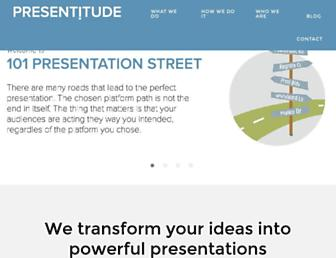 presentitude.com screenshot