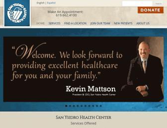 syhc.org screenshot