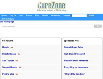 Thumbshot of Curezone.org