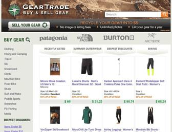 Thumbshot of Geartrade.com