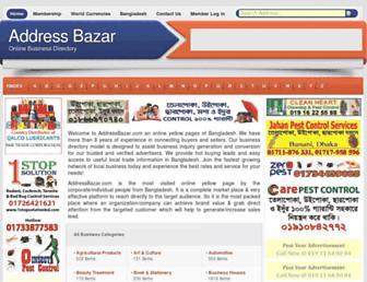 Thumbshot of Addressbazar.com