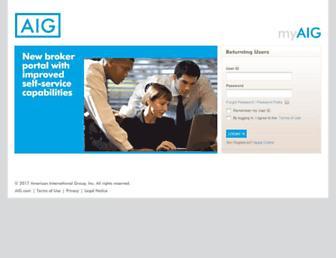 www-1.aig.com screenshot