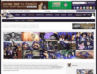 photos.baltimoreravens.com screenshot