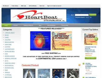 heartbeatrecordslabel.com screenshot