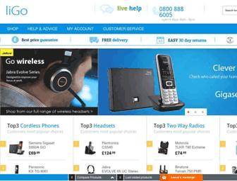 ligo.co.uk screenshot