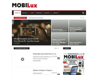 Thumbshot of Mobilux.info