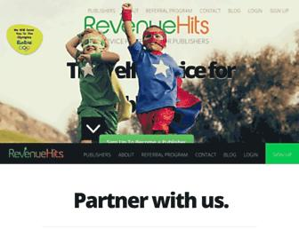 Thumbshot of Revenuehits.com