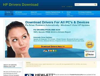 hp-drivers-download.com screenshot