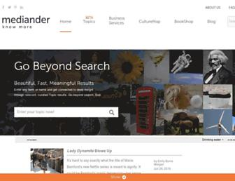 mediander.com screenshot