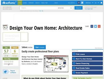 design-your-own-home-architecture.en.softonic.com screenshot