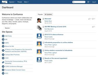 wiki.geant.org screenshot