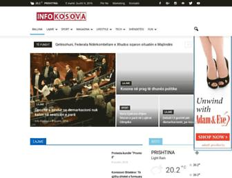 Thumbshot of Infokosova.net