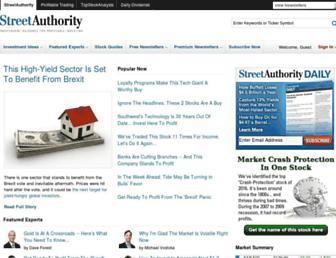 Thumbshot of Streetauthority.com