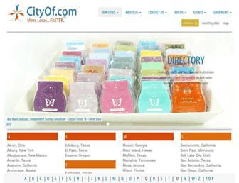 cityof.com screenshot