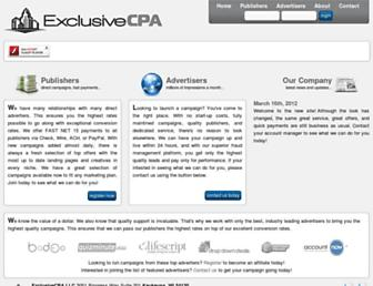 Thumbshot of Exclusivecpa.com