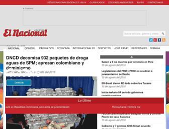elnacional.com.do screenshot