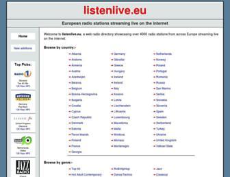 Thumbshot of Listenlive.eu