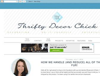 Thumbshot of Thriftydecorchick.com