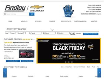findlaychevy.com screenshot