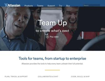 Thumbshot of Atlassian.com