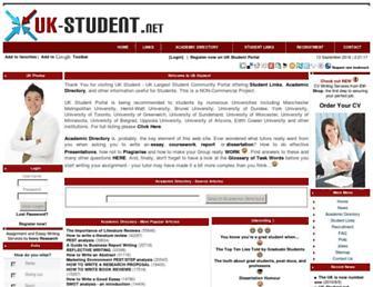 Thumbshot of Uk-student.net