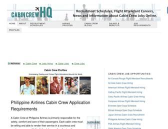 cabincrewhq.com screenshot