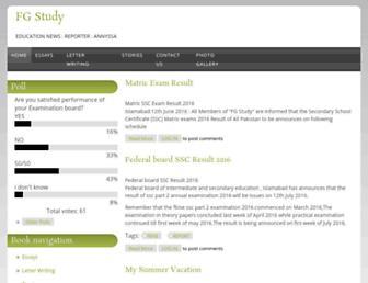 fgstudy.com screenshot