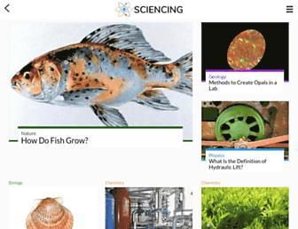 sciencing.com screenshot