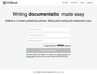 gitbook.com screenshot