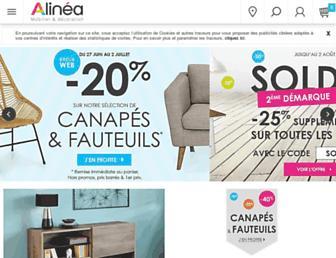 alinea.fr screenshot