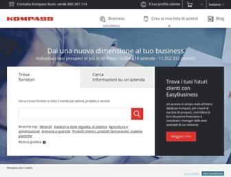 it.kompass.com screenshot