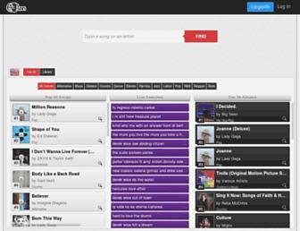 mp3guild.com screenshot
