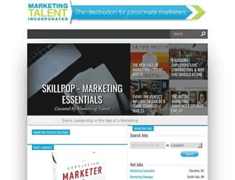 marketing-staffing.com screenshot