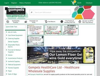 gompels.co.uk screenshot