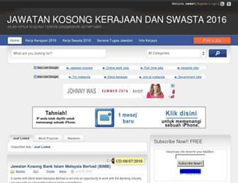 Thumbshot of Jobsmalaysia.info