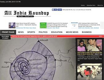 allindiaroundup.com screenshot