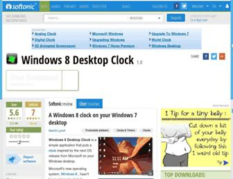 windows-8-desktop-clock.en.softonic.com screenshot