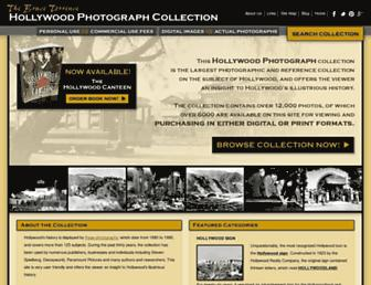 hollywoodphotographs.com screenshot
