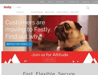 Thumbshot of Fastly.com