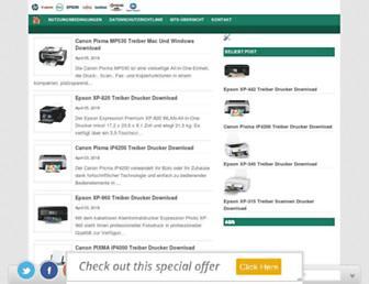 treiberdrucker.info screenshot