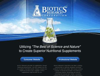 bioticsresearch.com screenshot