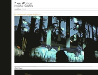 theowatson.com screenshot