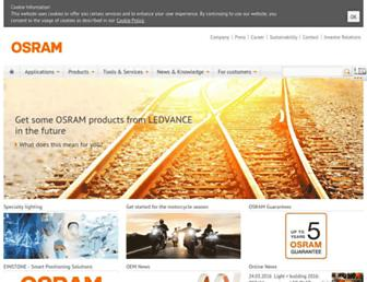 Thumbshot of Osram.info